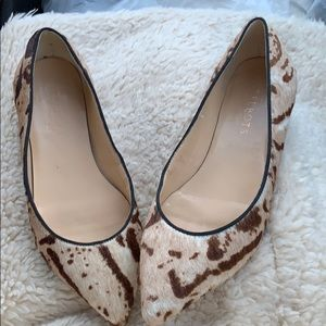 Talbots flats with leather. Very stylish.